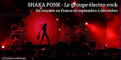 Concerts de Shaka Ponk