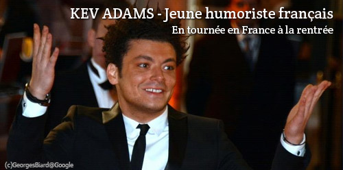 Spectacles de Kev Adams