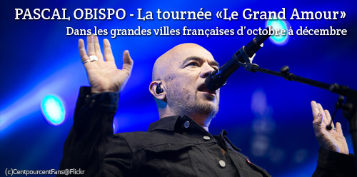 Concerts de Pascal Obispo
