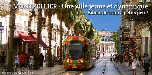 Billets de train d'occasion Montpellier