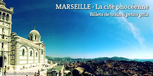 Billets de train d'occasion Marseille