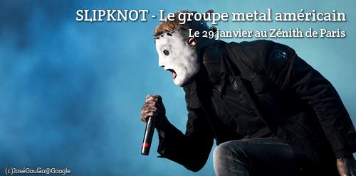 Concert de Slipknot