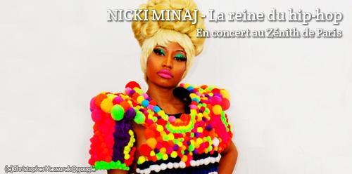 Concerts de Nicky Minaj