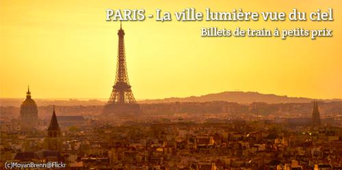 Billets de train d'occasion Paris