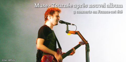 Ticket d'occasion pour Muse