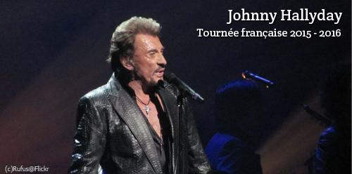 Billet d'occasion pour un concert de Johnny Hallyday
