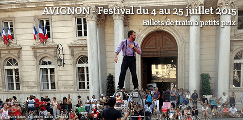 Billet de train d'occasion pour Avignon