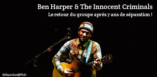 Billet d'occasion pour voir Ben Harper en concert