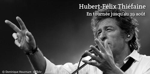 Billet d'occasion concert Hubert-Félix Thiéfaine