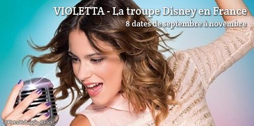 Billets d'occasion pour le spectacle de Violetta
