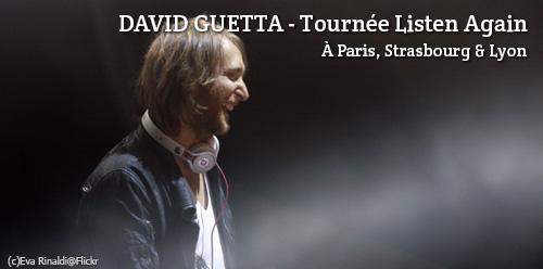 David Guetta en concert Listen Again